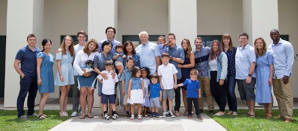 Kathleen J. Robison, Author, and family.  God's blessings astound us with 14 grandchildren. Presently, three more are coming, as of this posting. Our ethnically diverse background and family of 31 plus personalities provide inspiration to share God's amazing love amidst the challenges of real life.